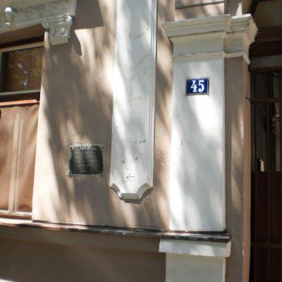 Зграда у улици Краља Петра I бр. 45