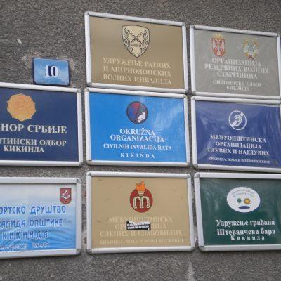 Табла организације
